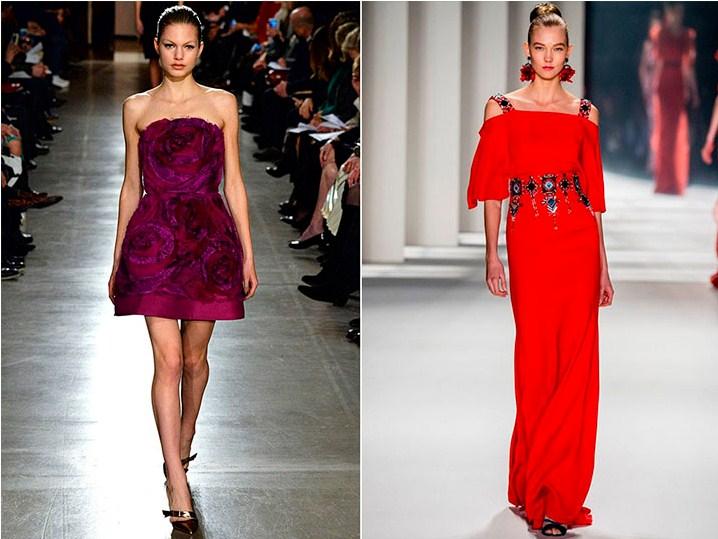 Модные фасоны платьев новый год